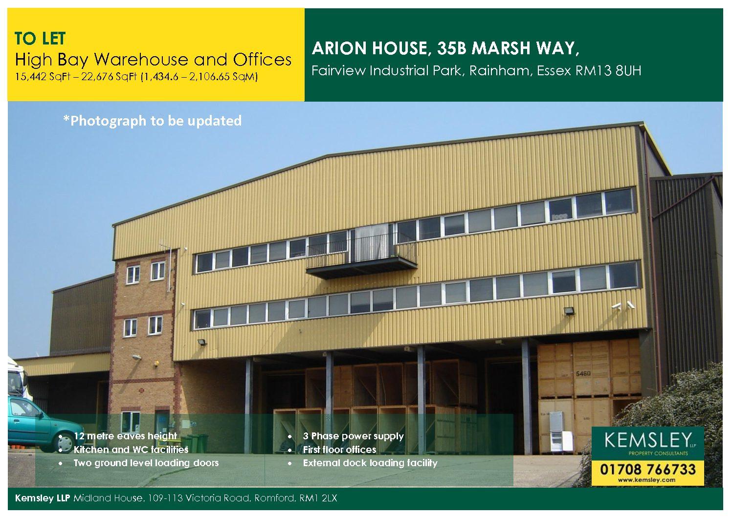 Arion House, 35B Marsh Way